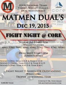 Matmen Duals Poster